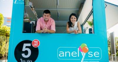 De la multinațională la gelateria artizanală Anelyse în plină pandemie