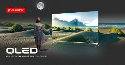 Samsung are un nou concurent: Allview lansează primele modele QLED