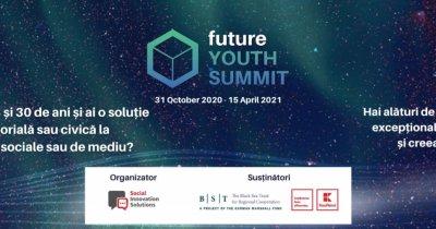 Future Youth Summit: Înscrieri deschise până în 10 octombrie pentru tineri