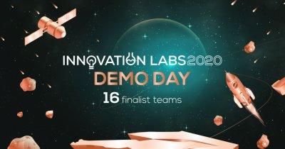 Innovation Labs 2020: 16 echipe în finala programului. Demo Day, pe 15 octombrie