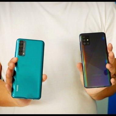 Huawei P Smart 2021 sau Samsung Galaxy A51? Review comparativ