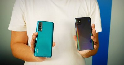 Huawei P Smart 2021 sau Samsung Galaxy A51? Review comparativ