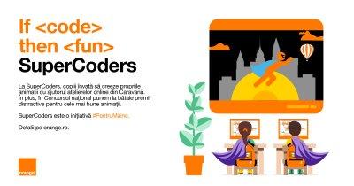 Educație digitală pentru copii: o nouă ediție a programului SuperCoders