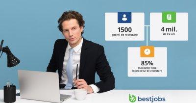 BestJobs lansează serviciul de recrutare BestJobs Agency