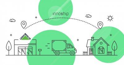 Startupul românesc Innoship, parteneriat important cu Leroy Merlin