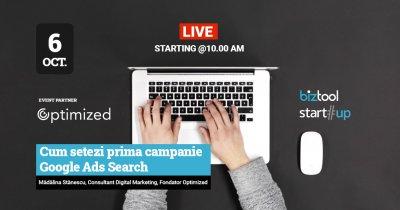 Webinar BizTool.ro: cum faci campanii Google Ads Search pentru afacerea ta