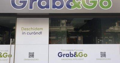 Grab&Go, magazinul inteligent românesc care seamănă cu Amazon Go