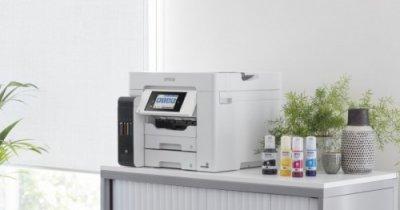 Epson a lansat două noi imprimante pentru companiile mici și birourile de acasă
