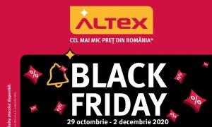 Altex Black Friday 2020: Catalogul cu reducerile disponibile de pe 29 octombrie