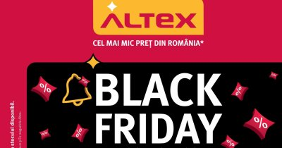 Altex Black Friday 2020: Catalogul cu reducerile disponibile de pe 29 octombrie