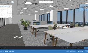 Cum transformă tehnologia prezentarea spațiilor office: Bright Spaces&Skanska
