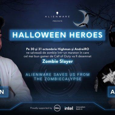 Alienware prezintă Halloween Heroes: maraton de gaming de două zile