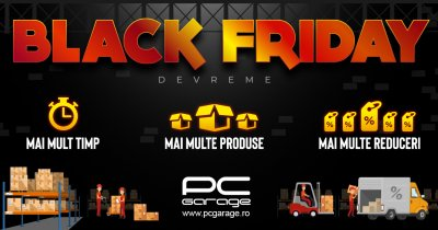 Black Friday 2020 - PC Garage începe prima rundă de reduceri