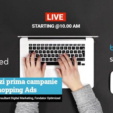 Webinar BizTool: cum setezi campanii Google Shopping Ads pentru magazinul tău