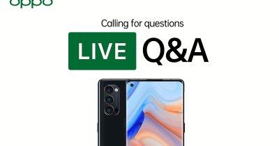 LIVE VIDEO Ask Me Anything - Tot ce trebuie să afli despre OPPO și tehnologie