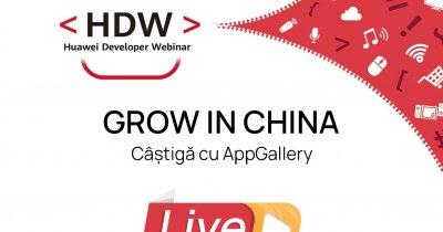 Huawei Developer Webinar: Oportunități pentru dezvoltatori