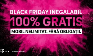 Black Friday 2020 la Telekom: Mobil Nelimitat, 100% gratis, discounturi de 80%