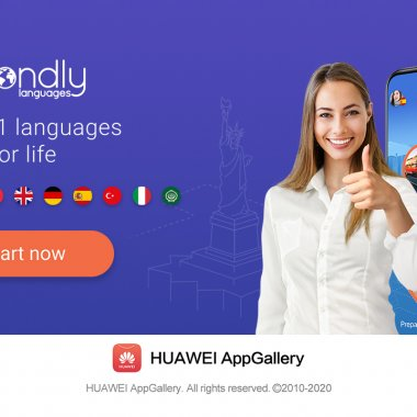 Succes pentru aplicația românească Mondly în Huawei AppGallery