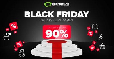 Black Friday 2020 la elefant.ro. Singles Day pe 11 noiembrie la magazinul online
