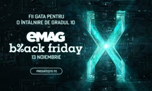 Black Friday 2020 - al doilea val de produse anunțate de eMAG