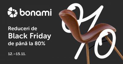 Black Friday 2020 la Bonami: două weekenduri cu reduceri de până la 80%