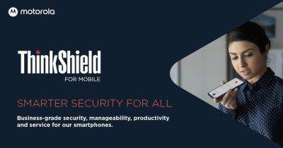 Motorola împrumută de la Lenovo serviciile de securitate business ThinkShield