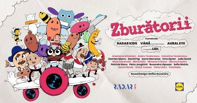 Zburătorii, animația colaborativă dintre copii și artiști, online la Animest