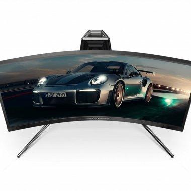 AOC și Porsche au scos monitorul de gaming cu design inspirat din curse