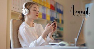 Startup-ul 4mind, care oferă beneficii de terapie, inclus în pachete de asigurări