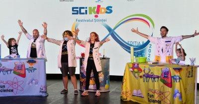 SCIKiDS, festival de știință pentru copii, organizat online în acest an