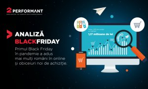 Black Friday 2020 la 2Performant: ce au luat românii și cele mai mari comenzi