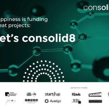 Consolid8, platforma de crowdfunding pentru afaceri sociale&industrii creative