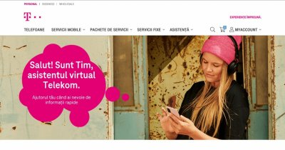 Telekom Romania lansează chatbot-ul Tim: Asistent digital pentru clienți