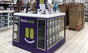 fenix.eco vinde telefoane recondiționate în magazinele Auchan
