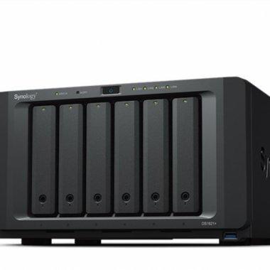 Synology lansează DS1621+: NAS performant echipat cu procesor AMD Ryzen