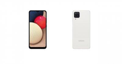 Samsung anunță noi telefoane mid-range: Galaxy A12 și Galaxy A02s