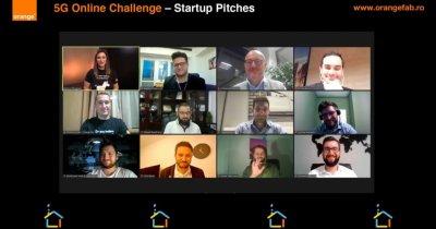 5G Online Challenge - 5 startup-uri merg mai departe în Orange FAB