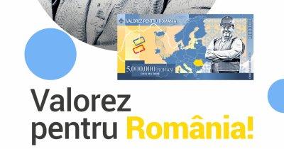 Inițiativă TransferGo pentru românii din Diaspora: o bancnotă dedicată acestora
