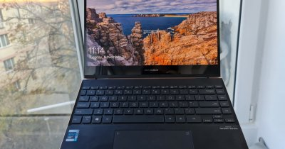 REVIEW ASUS ZenBook Flip S - OLED-ul face banii?