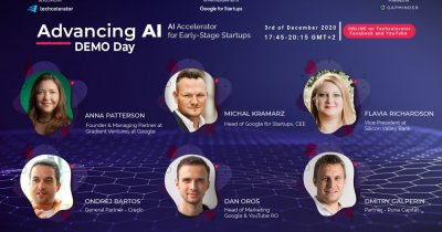 Advancing AI Demo Day - acceleratorul de inteligență artificială la final