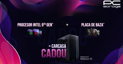 PC Garage: Carcasă cadou pentru cei care cumpără un procesor și placa de bază