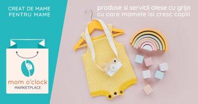 Mom o'clock se reinventează și lansează marketplace-ul pentru mame