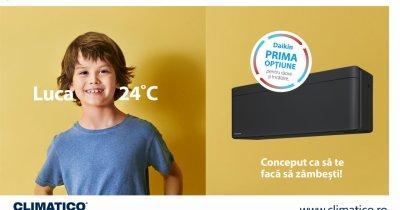 Redescoperă confortul termic cu aparate de aer condiționat Daikin de la Climatico