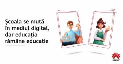 Huawei lansează un program de conectare la Internet a școlilor din zonele rurale