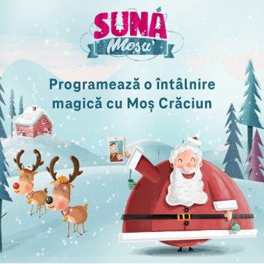 Telekom lansează proiectul Sună Moșu`: întâlniri cu Moș Crăciun