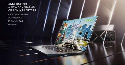 Laptop-urile devin mai performante și mai ieftine cu noile plăci video RTX 30
