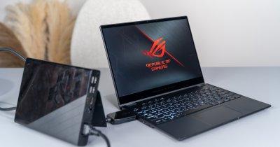 Asus Flow X13, primul laptop de gaming 2-in-1 ce vine cu o placă grafică externă