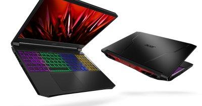 Noua gamă de laptopuri puternice Acer Nitro, procesoare AMD Ryzen 5000