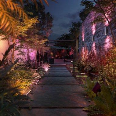 Signify anunță noi produse Philips Hue pentru exterior: cum transformi grădina