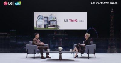 Viziunea LG pentru viitorul inteligent al casei tale: Electrocasnice cu AI